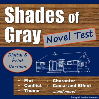 Shades of Gray Novel Test