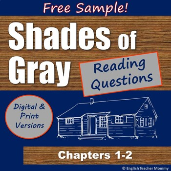 Shades of Gray Reading Questions - Ch. 1-2