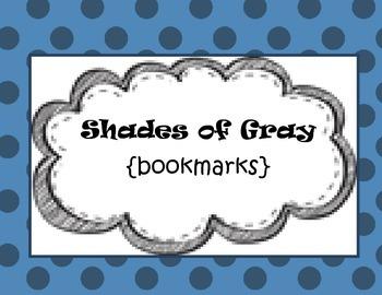 Shades of Gray {bookmarks}