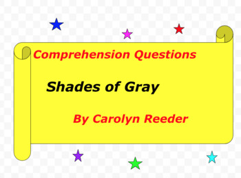 Shades of Gray by Carolyn Reeder