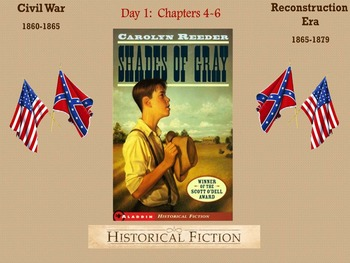 Shades of Gray by Carolyn Reeder Novel Unit Chapters 4-6
