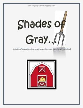 Shades of Gray {novel goodies}