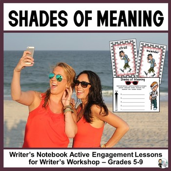 Shades of Meaning: Using Precise Vocabulary