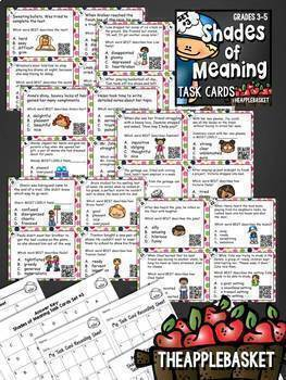 Shades of Meaning: Multiple Meaning Words BUNDLE