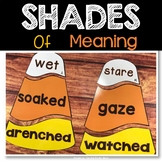 Shades of Meaning 2nd Grade