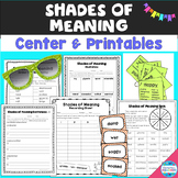 Shades of Meaning Activities