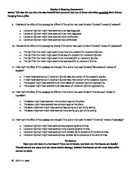 Shades of Meaning Assessment/Test