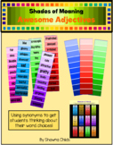 Shades of Meaning - Awesome Adjectives
