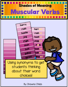 Shades of Meaning - Muscular Verbs