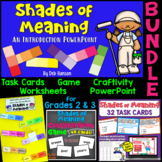 Shades of Meaning Bundle (for 2nd and 3rd grade classrooms)