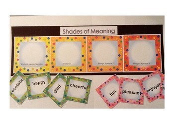 Shades of Meaning Center