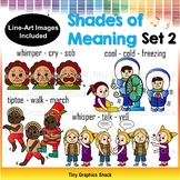 Shades of Meaning Clip Art 2