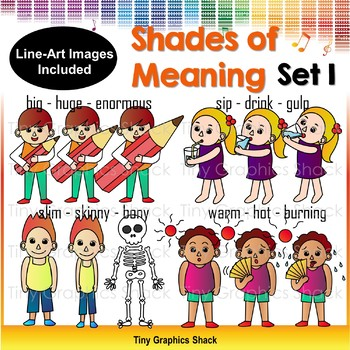 Shades of Meaning Clipart 1