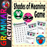 Shades of Meaning 4 in a Row Game