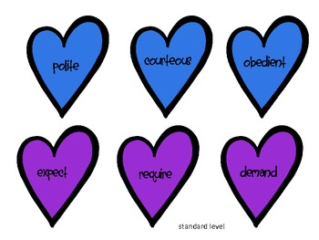 Shades of Meaning Hearts (sold individually, bundled or MEGAPACK with FREE item)