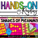 Shades of Meaning L.1.5.d {Hands-on Reading}