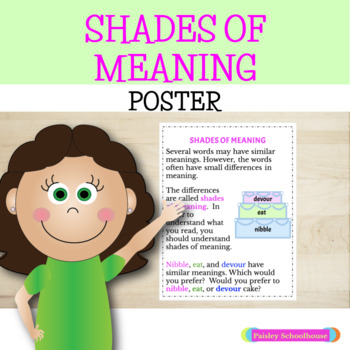 Shades of Meaning Poster