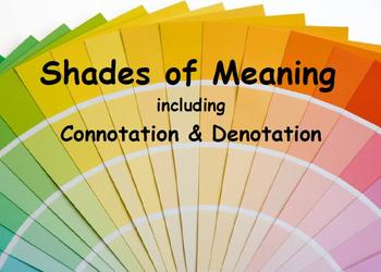Shades of Meaning Power Point