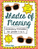 Shades of Meaning Printables