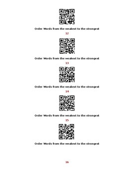 Shades of Meaning QR Scoot