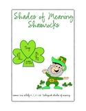 Shades of Meaning Shamrocks (sold individually, bundled,MEGAPACK with FREE item)
