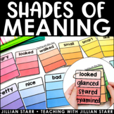 Shades of Meaning- Synonyms