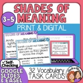 Shades of Meaning Task Cards