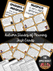 Autumn Shades of Meaning Task Cards for Grades 3-5