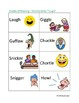 Shades of Meaning Verb Cards - LAUGH