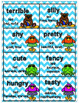 Shades of Meaning Verbs & Adjectives