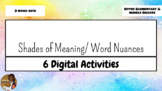 Shades of Meaning/ Word Nuances FREEBIE