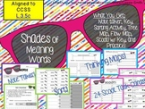 Shades of Meaning Words Activity Pack