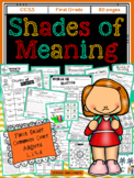 Shades of Meaning and Synonyms