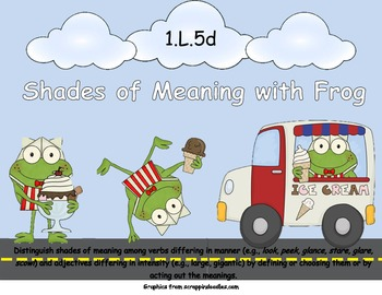 Shades of Meaning with Frog