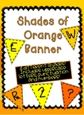 Shades of Orange and Yellow Banner