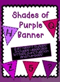 Shades of Purple Banner