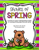 Shades of Spring!  Shades of Meaning and Synonyms {CCSS Aligned}