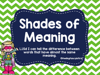 Shades of meaning BUNDLE