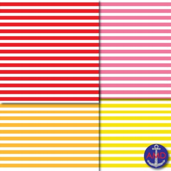 Shades of the Rainbow Paper Pack Bundle (100 pgs) for Bulletins, TPT Covers