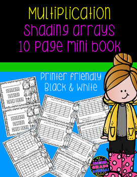 Shading Arrays Multiplication Mini-Book
