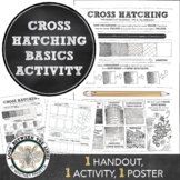Cross Hatching Shading Basics, Tips and Techniques: Value Study Worksheet