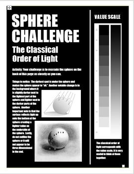 Shading Sphere Challenge Handout