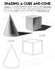 Value Scale Bundle, Shading Worksheet, Pencil