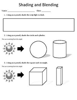 Shading and Blending Handout