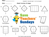 Shading Fractions Lesson Plans, Worksheets and More
