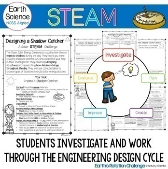 Shadow Catcher- A Solar STEAM & STEM Challenge (NGSS 5-ESS1-2 & 1-PS4-3)