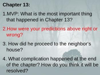 Among the Hidden - Journal Response Questions - Margaret Peterson Haddix