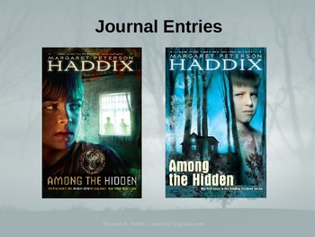 Among the Hidden - Journal Response Questions - Margaret P