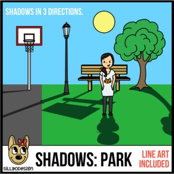 Shadow Clip Art: Park Themed