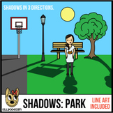 Shadow Clip Art: Park Themed